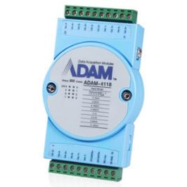 研华数据采集卡ADAM-4118 远程IO 8路热电偶模拟量采集模块Modbu